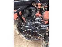 Leximoto 125 engine