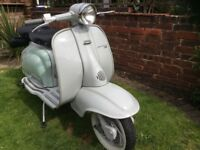Lambretta 125, My proper nice Italian scooter, not uprated or messed about with.