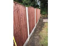 Heavy Duty Vertical Treatment Dipped Fence Panels