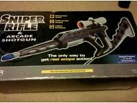 Arcade shotgun and sniper for PlayStation
