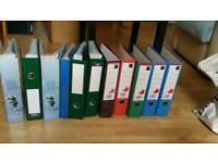 10 leaver arch folders with 500 poly pockets
