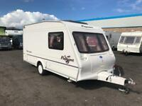 2004 BAILEY PAGEANT MAJESTIC 2 BERTH SINGLE AXLE LIGHTWEIGHT TOURING CARAVAN