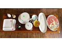 Serveware and dinnerware