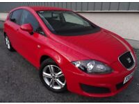 2010 Seat Leon 1.6TDI Diesel, Stop/Start, 20 Pounds Road Tax