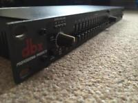 DBX professional audio equaliser