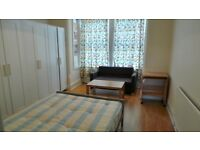 Splendid First floor STUDIO with Separate Kitchen and Driveway, Goodmays-- No DSS Please--