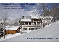 Jobs in skier's paradise for this coming winter season in the French Alps