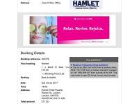 Hamlet ticket at harold pinter theatre 29th july