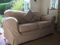 Large comfortable 2 seater sofa
