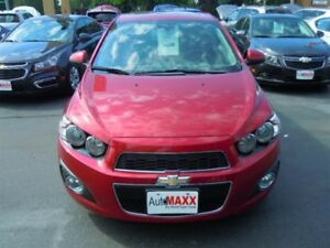 2013 CHEVROLET SONIC LT AUTO- HEATED FRONT SEATS, ONSTAR, REMOTE