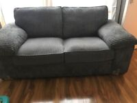 Large 2 Seater Charcoal sofa