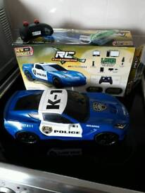 Brand New Remote Control Police Car rechargeable