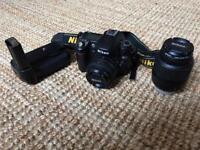 Nikon D80, 16-55 lense + 50mm 1.8 lense with battery grip