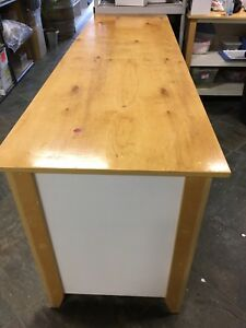 Solid Maple Wood  Work tables! Must go asap