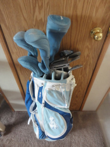 11 piece set of Ashley Women's Clubs