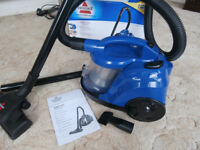Bex Bissell Vacuum Cleaner - 'EasyVac' cylinder model, boxed, virtually as new