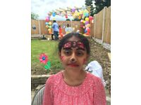 FACE PAINTING - BIRTHDAY PARTY