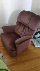Rocker/recliner - priced for quick sale!
