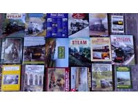 Collection of train books free to a good home