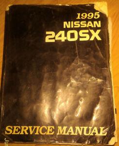 1995 Nissan 240SX Factory Service Repair Manual