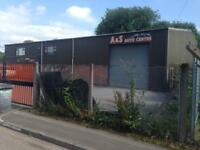 INDISTRIAL UNIT TO LET WORKSHOP WITH OFFICES SALES PITCH & WORKSHOP