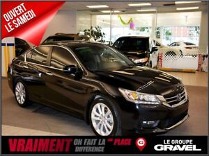 2015 Honda Accord Touring, GPS CUIR TOIT CAMERA DE RECUL