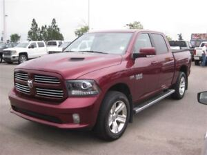 2016 Ram 1500 Sport|Keyless|REM Start|Camera|NAV|Leather|S Roof