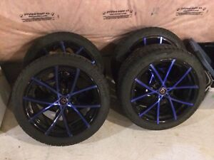 18 inch 5x114.3 rims with 225/45r18 tires(sold)