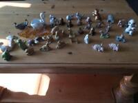 Miniature animal figurines