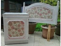 Shabby Chic style bedside cupboard