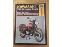 Kawasaki 750 Air- Cooled Fours Haynes Manual