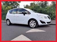 (White & Nice)- 2013 Vauxhall Meriva 1.4 -- Automatic -- Low 25000 Miles -- Part Exchange OK --CHEAP