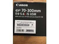 Cannon 70-300 lens