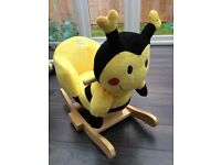 Kiddicare Buzzing Brains Bumble Bee Rocker