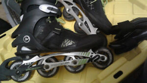 Like new K2 Mens Rollerblades size 12