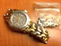Tag Heuer ladies stanless steal watch, good condition