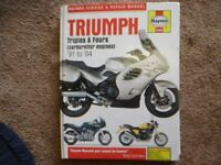 TRIUMPH TROPHY 1200 REPAIR MANUAL