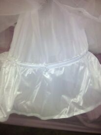 Wedding dress underskirt
