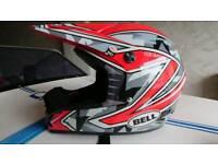 Bell sx11 motocross helmet size m