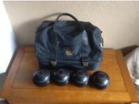 Bowls and bag