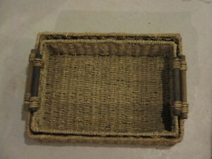 Seagrass Baskets, assorted sizes