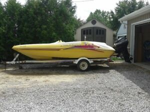 1997 Searayder F16 XR Jet Boat with 1998 40 hp Outboard