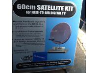 skyline 60cm satellite full system