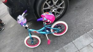Ariel bike and helmet