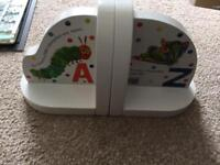 Hungry caterpillar book ends