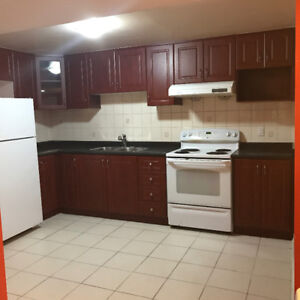 Newly renovated 3 bedroom besement for rent in Woodbridge