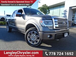 2014 Ford F-150 Platinum W/LEATHER INTERIOR & NAVIGATION