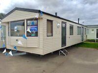 8 Berth static caravan for sale by Norfolk seaside, not Essex.