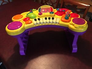 Electronic pre school music station.