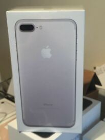 iPhone 7 plus sealed silver swap to plus gold colour